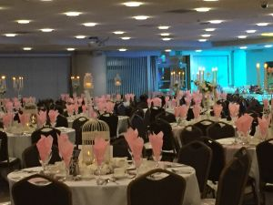 Charity Event for Breast Cancer held at the KC Stadium